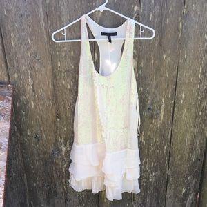White sequin BCBG dress - worn once